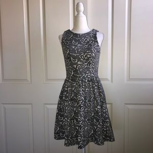 Frenchi fit and flair dress